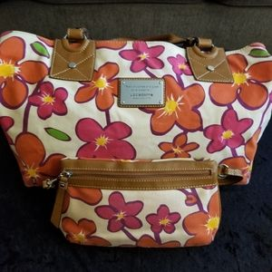 Liz Claiborne Wallet and Shoulder Bag Set